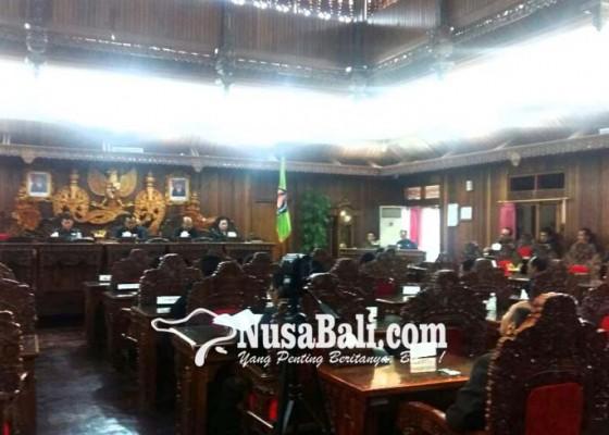 Nusabali.com - ranperda-apdb-2018-ditetapkan-jadi-perda