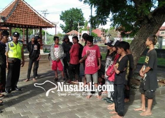 Nusabali.com - menggelandang-20-anak-punk-diamankan-petugas