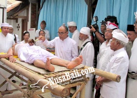 Nusabali.com - phdi-banten-gelar-upacara-mediksa