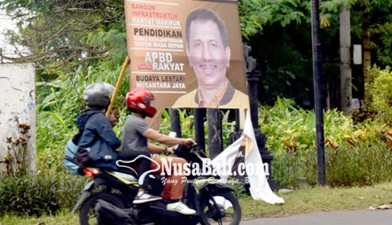 www.nusabali.com-baliho-hanura-diduga-dirobek-2-spanduk-juga-raib