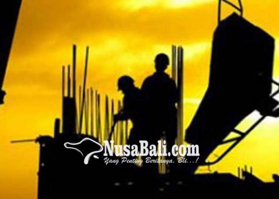 Nusabali.com - terkendala-material-proyek-fisik-baru-70-persen