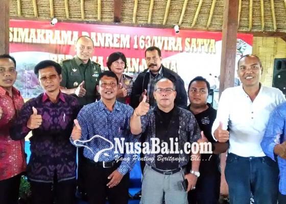 Nusabali.com - korem-berharap-sinergitas-dengan-media