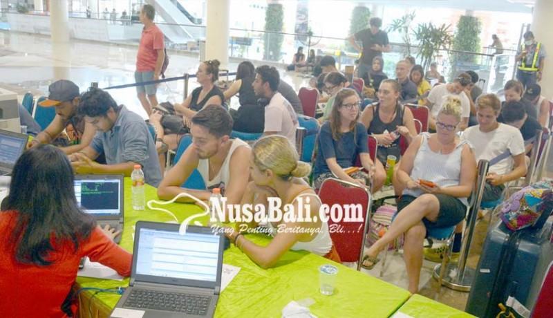 www.nusabali.com-bandara-tutup-445-wna-dapat-izin-tinggal-keadaan-terpaksa