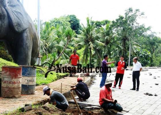 Nusabali.com - cek-lokasi-suwirta-ingin-proyek-tepat-waktu