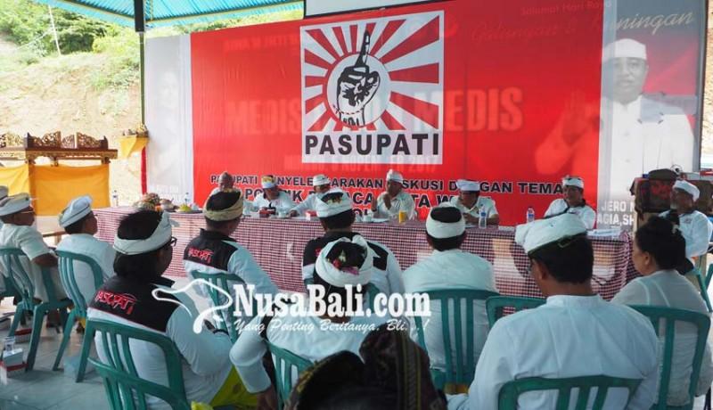 www.nusabali.com-pasupati-gelar-diskusi-politik-sesuai-weda