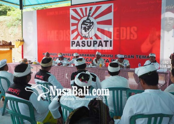Nusabali.com - pasupati-gelar-diskusi-politik-sesuai-weda