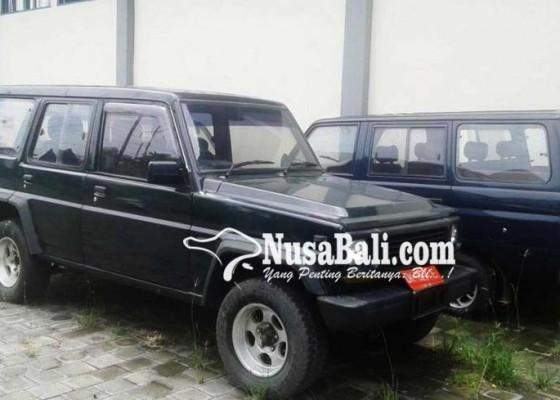 Nusabali.com - kendaraan-dinas-tak-terpakai-bakal-dilelang