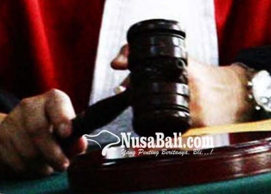 Nusabali.com - eks-bendesa-songan-divonis-1-tahun