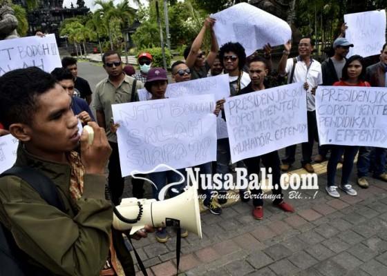 Nusabali.com - pernyataan-mendikbud-melukai-hati-warga-ntt