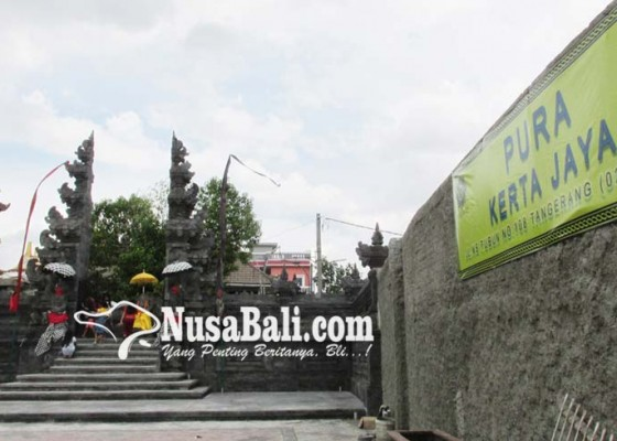 Nusabali.com - candi-bentar-pura-kertajaya-rampung