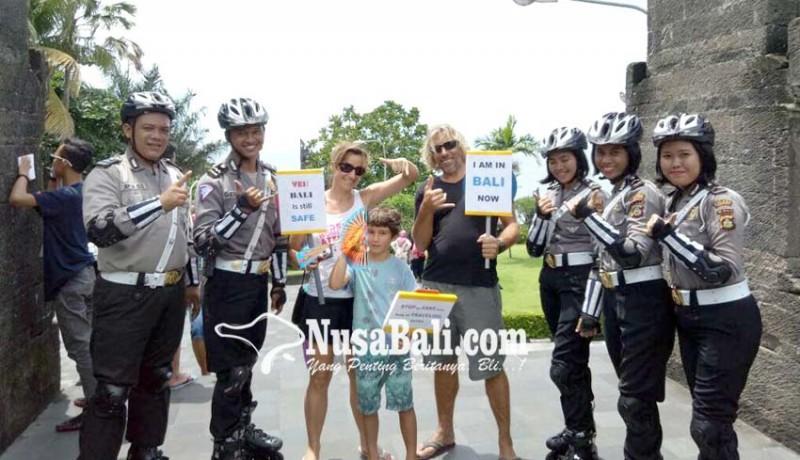 www.nusabali.com-polisi-promosikan-bali-aman-dikunjungi