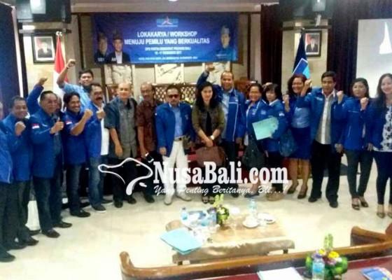 Nusabali.com - tarung-pileg-2019-demokrat-bali-gembleng-200-kader