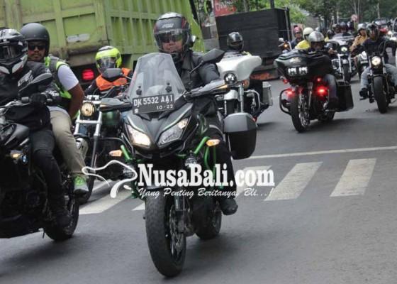 Nusabali.com - konvoi-ratusan-pemotor-kampanye-bali-aman