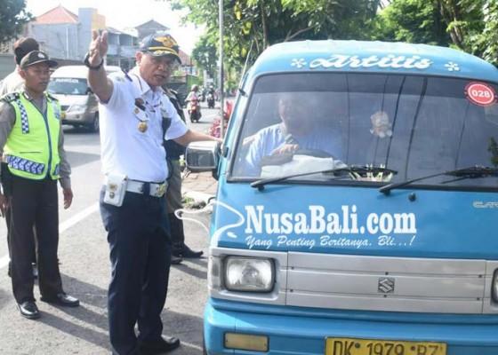 Nusabali.com - jelang-nataru-dishub-denpasar-siagakan-310-personel