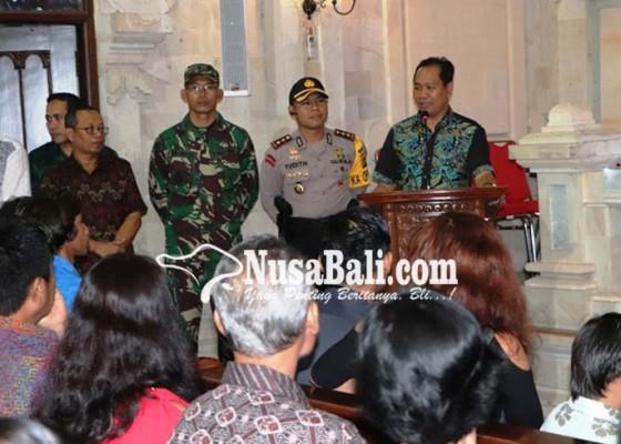 Nusabali.com - perayaan-malam-natal-di-badung-khidmat-dan-lancar
