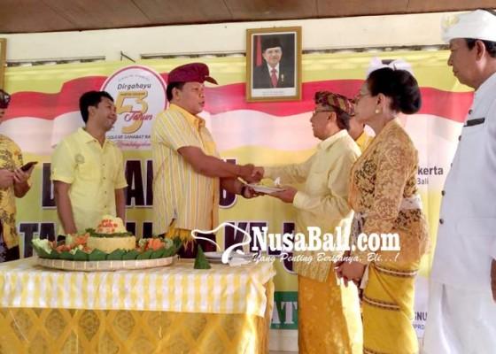 Nusabali.com - golkar-serahkan-rekomendasi-ke-kertha-maha-pada-5-januari-2018