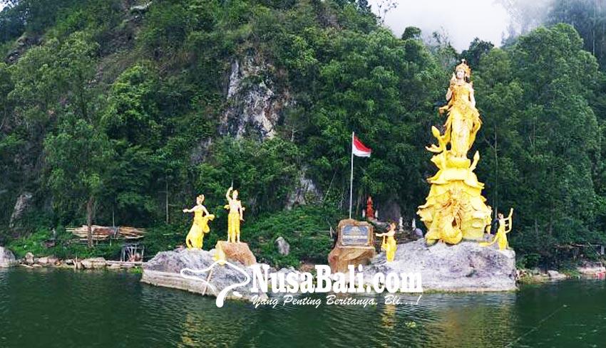 NUSABALI.com - Patung Dewi Danu Tertinggi dan Terbesar di