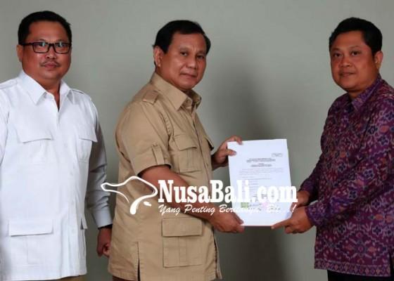 Nusabali.com - gerindra-serahkan-rekomendasi-ke-mantra-kerta