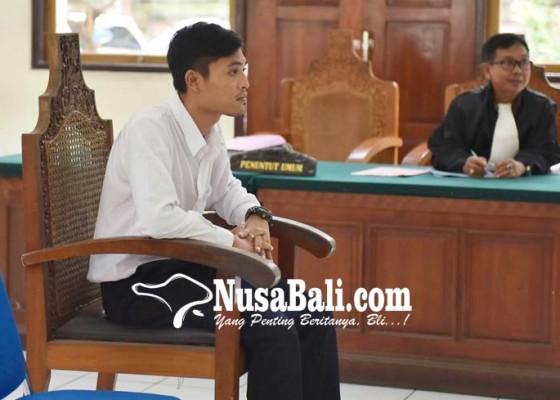 Nusabali.com - kurir-9675-butir-ekstasi-divonis-12-tahun