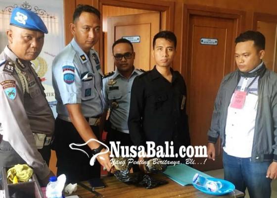 Nusabali.com - penyelundupan-ganja-ke-lp-kerobokan-gagal