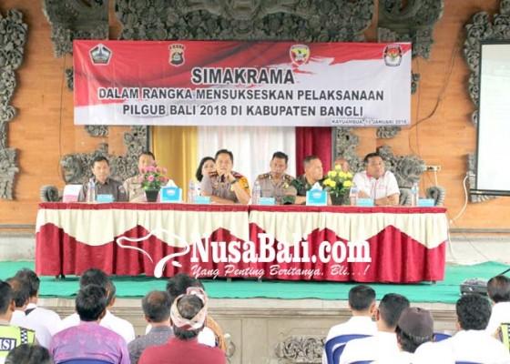 Nusabali.com - sukseskan-pilgub-polres-gelar-simakrama