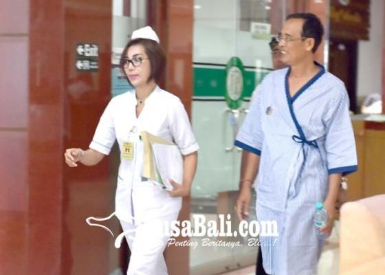 Nusabali.com - kpu-dampingi-paket-aman-dan-bagia-cek-kesehatan
