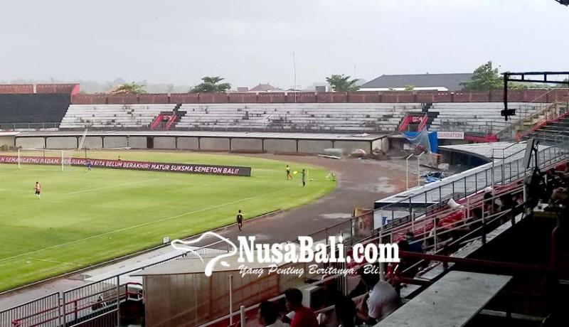 NUSABALI.com - Tribun VIP Stadion Dipta Bocor