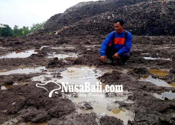 Nusabali.com - semburan-gas-tpa-hebohkan-warga