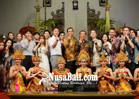Nusabali.com - promosi-bali-melalui-artis-korea