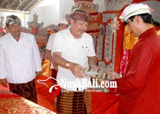 Nusabali.com - bendesa-mendoyo-dauh-tukad-kembali-dikukuhkan