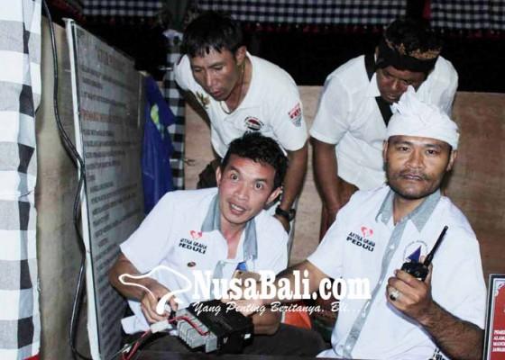 Nusabali.com - relawan-pasebaya-pantau-pamedek