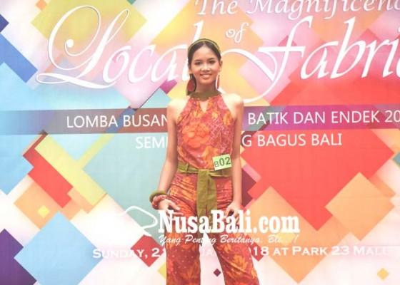 Nusabali.com - lomba-busana-endek-dan-batik-gali-potensi-model-dan-desainer