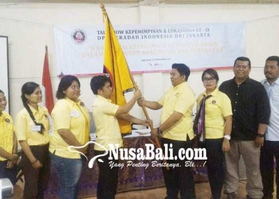 Nusabali.com - peradah-dki-jakarta-ganti-kepemimpinan