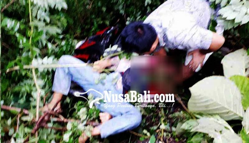 www.nusabali.com-rem-blong-pemotor-tewas-terjun-ke-jurang