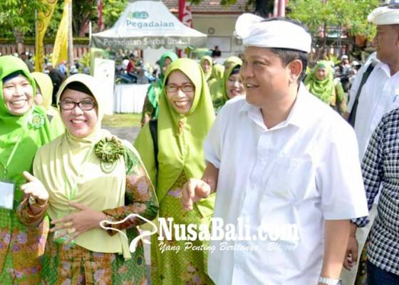 Nusabali.com - rai-mantra-buka-festival-qosidah-rebana-dan-sholawat