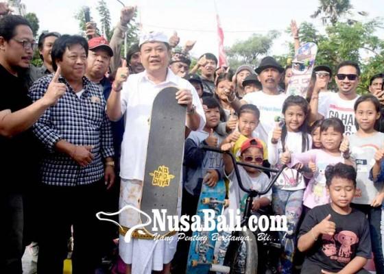 Nusabali.com - inovasi-tanpa-batas-rai-mantra-resmikan-extreme-park-denpasar