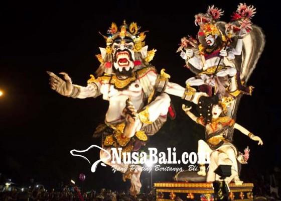 Nusabali.com - ogoh-ogoh-dilarang-berbau-politik