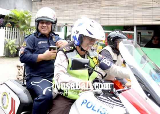 Nusabali.com - kebut-verifikasi-ketua-kpu-naik-motor-patwal