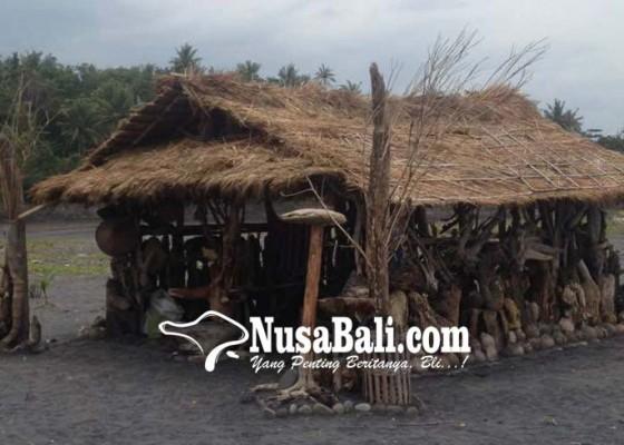 Nusabali.com - gugah-masyarakat-peduli-lingkungan-sumerta-dirikan-gubuk-dari-sampah