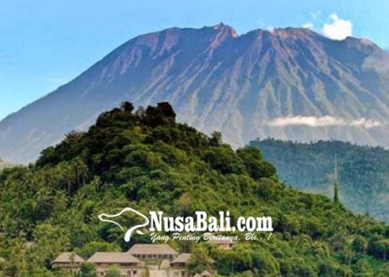 Nusabali.com - gunung-agung-mereda-pasar-truk-pulih