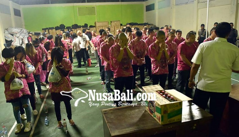 Nusabali Com Terlibat Penipuan Online 55 Wna China Dideportasi