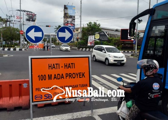 Nusabali.com - ada-pengalihan-arus-di-jalan-imam-bonjol-denpasar