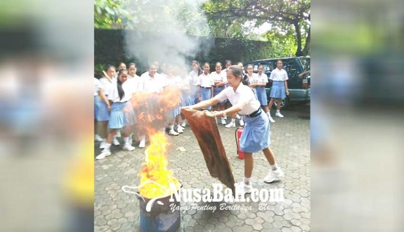 www.nusabali.com-sosialisasi-pencegahan-kebakaran-sasar-pelajar-dan-anak-usia-dini