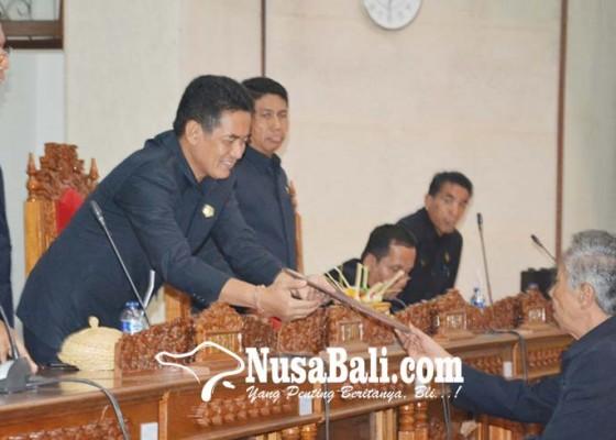 Nusabali.com - perda-rpjmd-2017-2022-disahkan