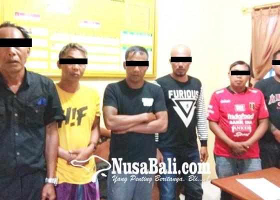 Nusabali.com - diduga-lakukan-pungli-enam-orang-diamankan