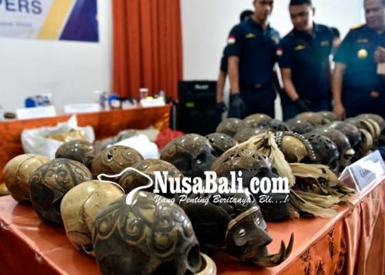 Nusabali.com - pengiriman-24-tengkorak-kepala-manusia-digagalkan