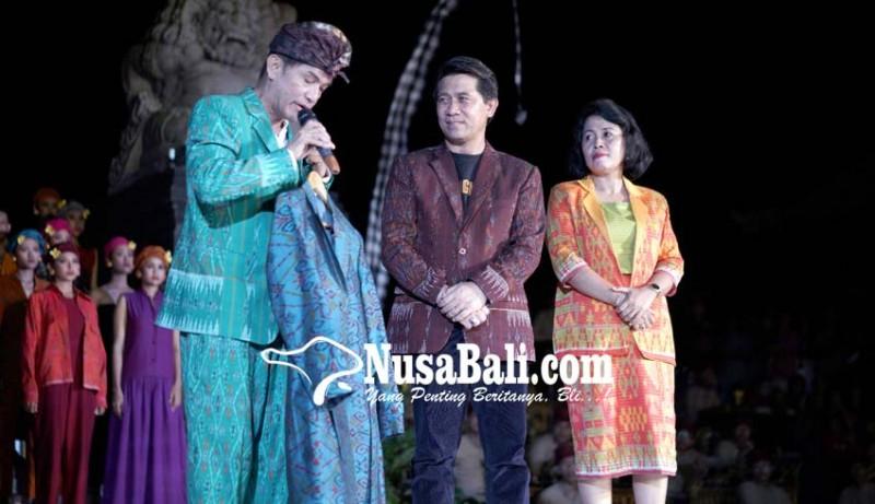 www.nusabali.com-semarapura-fashion-day-bangkitkan-kejayaan-kain-tenun-klungkung