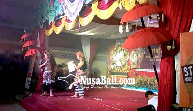 www.nusabali.com-sosialisasi-pilgub-kpu-bangli-pentas-budaya