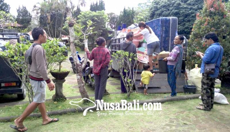 www.nusabali.com-pengungsi-pulang-kampung-posko-skb-kosong