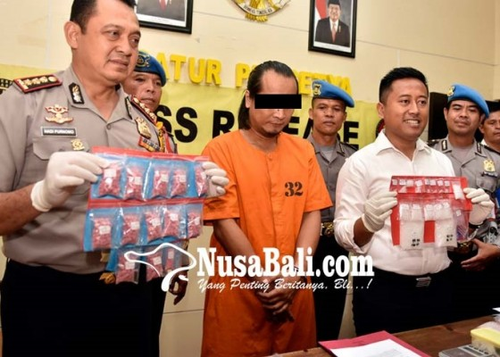 Nusabali.com - peredaran-narkoba-senilai-rp-1-m-digagalkan